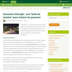"""Economie d'énergie : une """"bulle de lumière"""" pour éclairer les passants"""