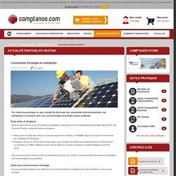 L'économie d'énergie en entreprise