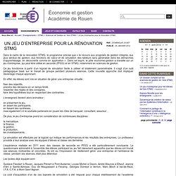 Jeu académie Rouen