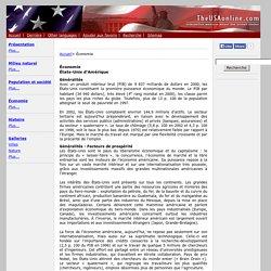 Économie Les Etats-Unis - TheUSAonline.net