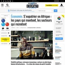 Économie. S'expatrier en Afrique: les pays qui montent, les secteurs qui recrutent