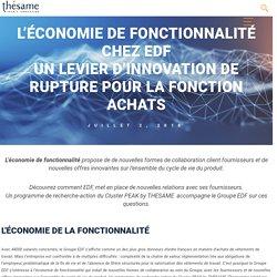 L'économie de la fonctionnalité chez EDF
