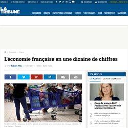 L'économie française en une dizaine de chiffres