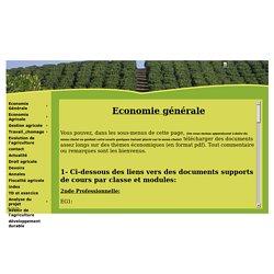 économie gestion droit agricole