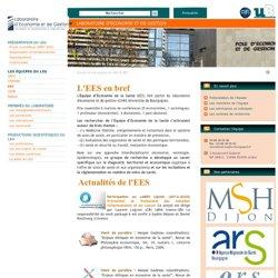 LEG - Laboratoire d'économie et de gestion - uB, Dijon