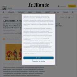 L'économie malade de ses modèles