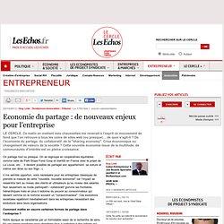 Economie du partage : de nouveaux enjeux pour l'entreprise