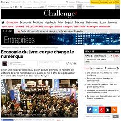 Economie du livre: ce que change le numérique - 21 mars 2014
