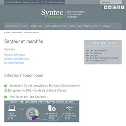 Économie numérique, secteur et marchés INFOS CHIFFREES