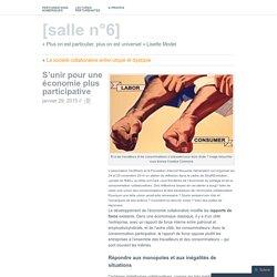 S'unir pour une économie plus participative
