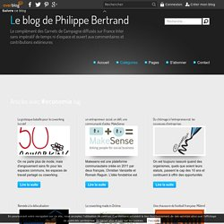 economie - Le blog de Philippe Bertrand
