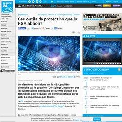 Economie - Ces outils de protection que la NSA abhorre