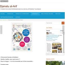 L'Economie Sociale et Solidaire en Algérie - Djanatu al-Arif