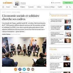 L'économie sociale et solidaire cherche ses cadres