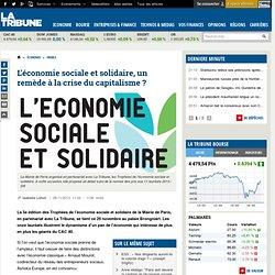 L'économie sociale et solidaire, un remède à la crise du capitalisme ?