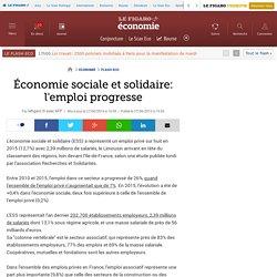 Économie sociale et solidaire: l'emploi progresse