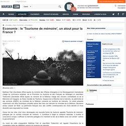Economie: le 'Tourisme de mémoire', un atout pour la France ?