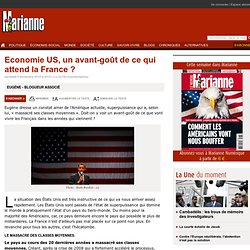 Economie US, un avant-goût de ce qui attend la France ?