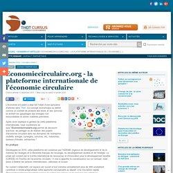 Economiecirculaire.org - la plateforme internationale de l'économie circulaire