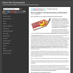 Bravo Les Affaires : faire des économies sur l'alimentation