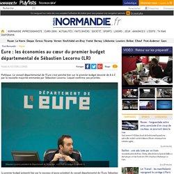 Eure : les économies au cœur du premier budget départemental de Sébastien Lecornu (LR)