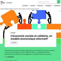 L'ESS économie sociale et solidaire, un modèle économique alternatif
