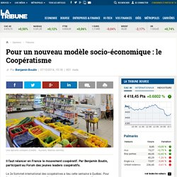 Pour un nouveau modèle socio-économique : le Coopératisme