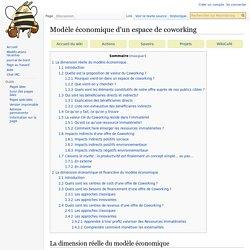 Modèle économique d'un espace de coworking — Movilab.org