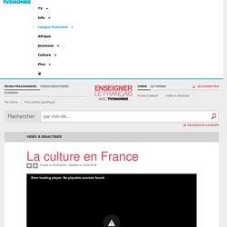 Quel est le poids économique de la culture en France ? - Vidéo à didactiser TV5MONDE