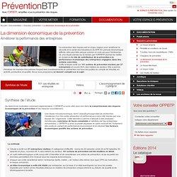 La dimension économique de la prévention / Dossiers prévention