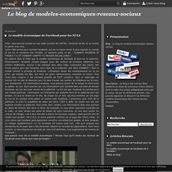 Le modèle économique de Facebook pour les NULS - Le blog de modeles-economiques-reseaux-sociaux