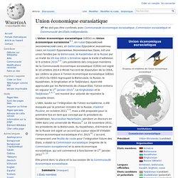 Union économique eurasiatique