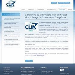L'Industrie de la Croisière offre un nouvel élan à la reprise économique Européenne - CLIA France