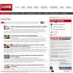 Unilever – Actualité économique et industrielle de Unilever
