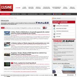 Thales – Actualité économique et industrielle de Thales