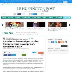 La relance économique par les femmes, vous y avez pensé, Monsieur Valls?