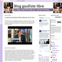 La bible économique d'Olivier Berruyer sur la crise