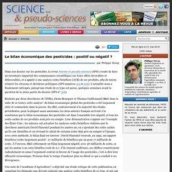 Le bilan économique des pesticides : positif ou négatif