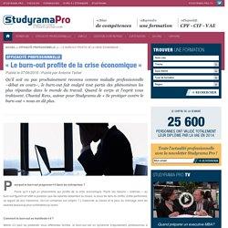 « Le burn-out profite de la crise économique » - Efficacité professionnelle - Studyrama Pro