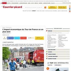 L'impact économique du Tour de France un an plus tard - Saint-Quentin