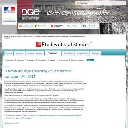 La mesure de l'impact économique d'un événement touristique - Avril 2012