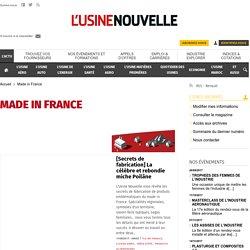"""L'actualité économique du """"Made in France"""" sur usinenouvelle.com"""