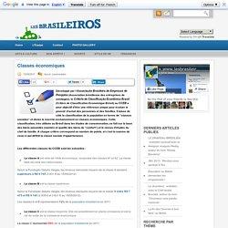 Classes économiques « Les BRASILEIROS