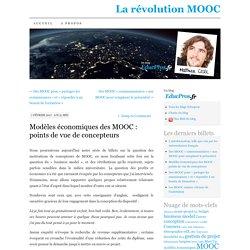 Modèles économiques des MOOC : points de vue de concepteurs