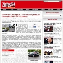Economiques, écologiques... Les voitures hybrides ne connaissent pas la crise à la Réunion