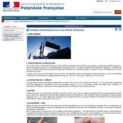 Données économiques de la Polynésie française / Présentation de la PF / Accueil - Portail de l'Etat en Polynésie française