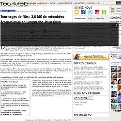 Tournages de film : 3,6 M€ de retombées économiques en Languedoc-Roussillon