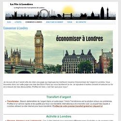 Economiser à Londres