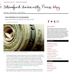 The Paradox of Economism - Stanford University Press Blog