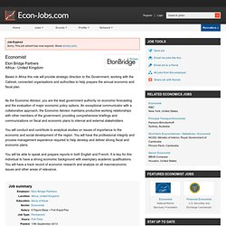 Economist job in Africa, United Kingdom